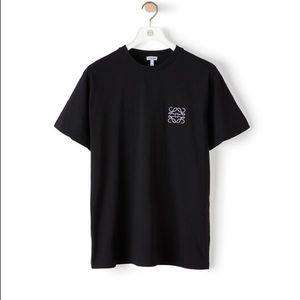 LOEWE Anagram Black Tee Shirt